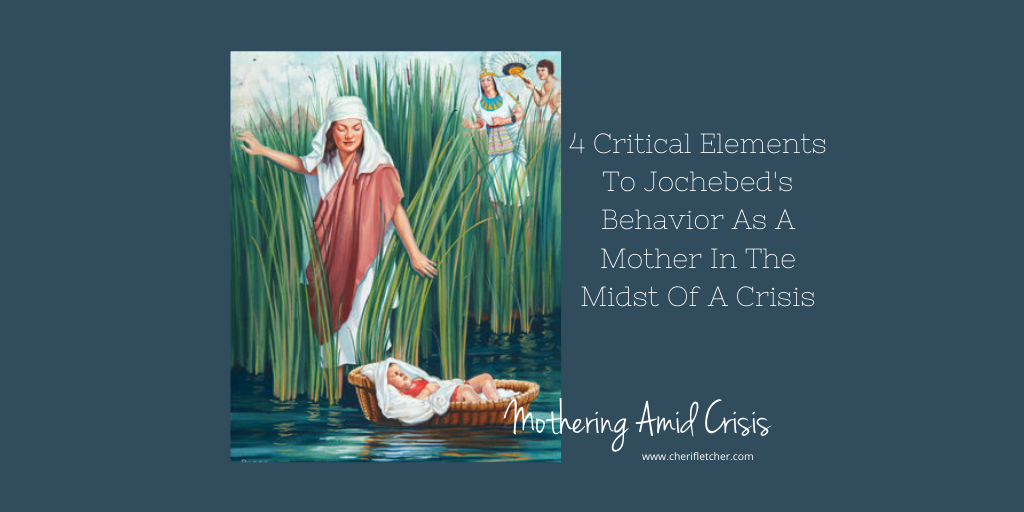 Mothering Amid Crisis – The 4 Critical Behaviors of Jochebed