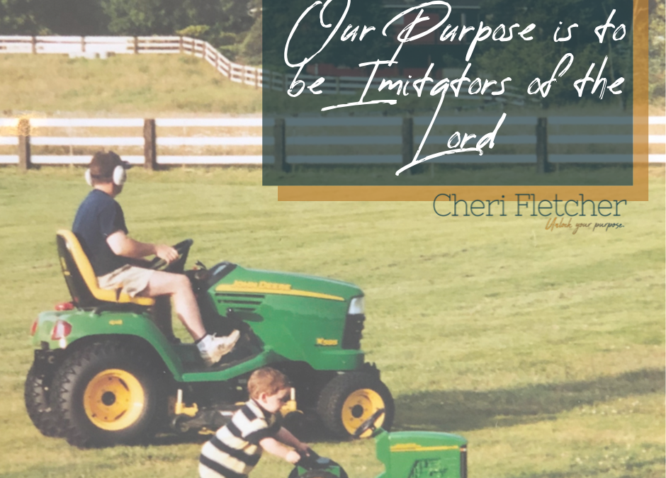 Our Purpose Is To Be Imitators Of The Lord